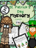 St. Patrick's Day {C.S.I. Math Review} NO PREP
