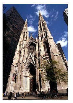 St. Patrick's Cathedral (Manhattan) New York Word Search
