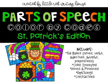 St. Patrick's Color by Codes