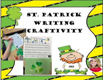 St. Patrick's Craftivity (NO PREP)