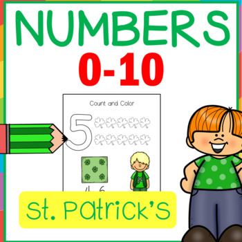 St Patrick's Day Numbers 0-10