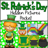 St. Patrick's Day 100 Chart Hidden Pictures