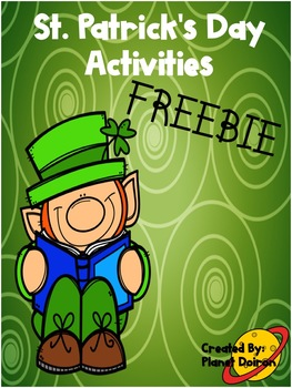 St. Patrick's Day FREEBIE math and literacy sample