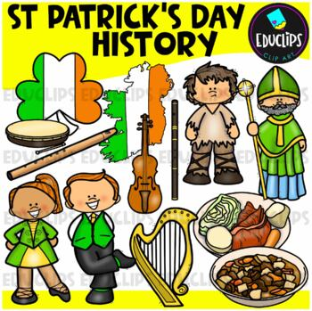 St Patrick's Day 2 Clip Art Bundle {Educlips Clipart}