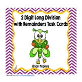 St. Patrick's Day 2 Digit Long Division with Remainders Ta