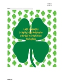St. Patrick's Day 2-Digit by 2-Digit Multiplication and Division Coloring Pages