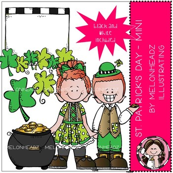St. Patrick's Day 2 clip art - Mini - by Melonheadz