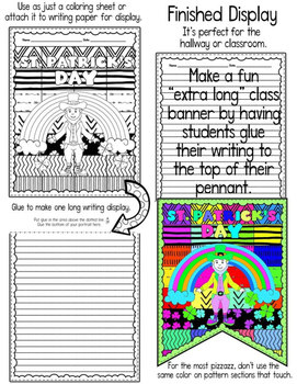 St. Patrick's Day Coloring and Writing