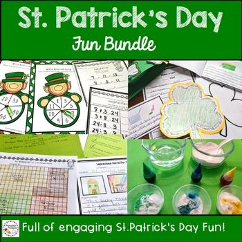 St. Patrick's Day Literacy, Science, Math!
