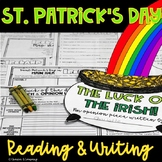 St. Patrick's Day Comprehension and Opinion Writing