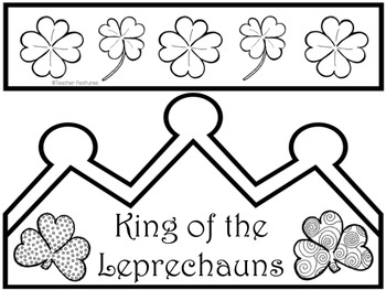 #filluponluck St. Patrick's Day Crowns