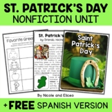 Nonfiction St. Patricks Day Unit Activities
