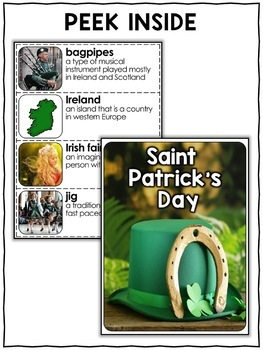Nonfiction Unit - St Patricks Day Activities