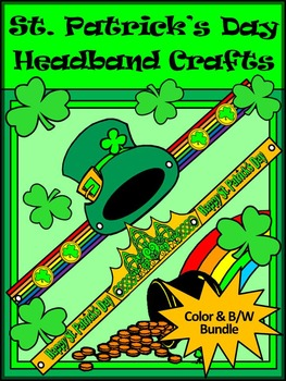 St. Patrick's Day Activities: St. Patrick's Day Headbands