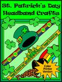 St. Patrick's Day Craft Activities: St. Patrick's Day Headbands Craft Activity
