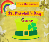 St. Patrick's Day Game - Math Activity - Addition and Subt