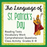 St. Patrick's Day Informational Texts, Activities