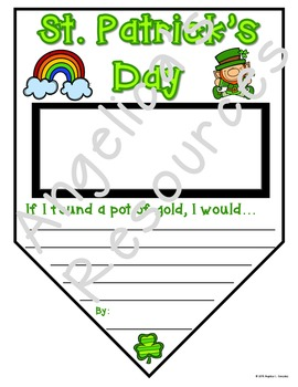 St. Patrick's Day Activities: Pennants