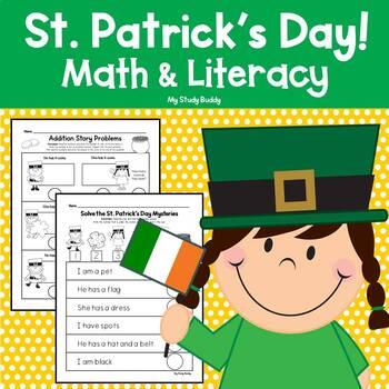 St. Patrick's Day Math & Literacy (Kindergarten)