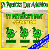 St Patrick's Day Addition PowerPoint Game