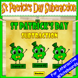 St Patrick's Day Subtraction PowerPoint Game