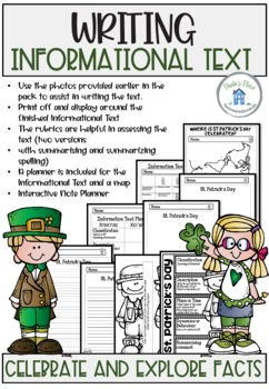 Saint Patrick's Day Informational Text