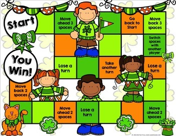 St. Patrick's Day Activity: St. Patrick's Day Reading Game