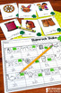 Kindergarten St. Patrick's Day Centers for Math and Literacy Activities