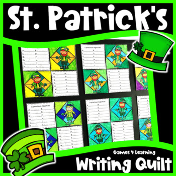 St. Patrick's Day Activity: St. Patrick's Day Writing Prompts Quilt