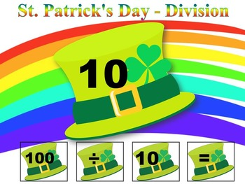 St. Patrick's Day - St. Patrick - Division - Math Center -