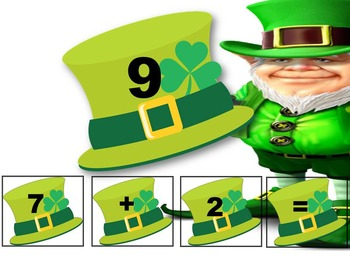 Math - St. Patrick's Day - Addition