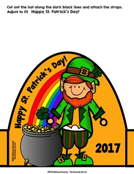 St. Patrick's Day Pot-O-Gold Hat