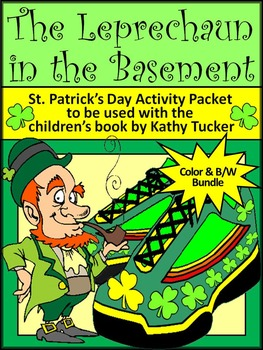 St. Patrick's Day Activities: The Leprechaun in the Basement Activity Packet