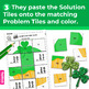 St. Patrick's Day 2nd-3rd Math Skills Worksheets | Secret Picture Tiles