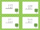 St. Patrick's Day 3-Digit Subtraction Task Cards!