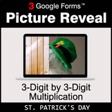 St. Patrick's Day: 3-Digit by 3-Digit Multiplication - Goo