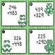 St. Patrick's Day 3-digit Addition & Subtraction FREEBIE!!