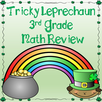 St. Patrick's Day 3rd Grade Math Review