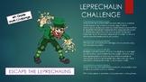 St. Patrick's Day 4th grade Escape Room, Math Challenge