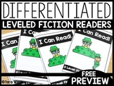 St. Patrick's Day A-D Leveled Fiction Readers | FREEBIE DO