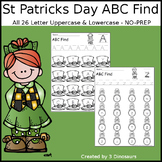 St Patrick's Day ABC Letter Find