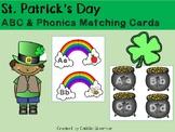 St. Patrick's Day ABC & Phonics Matching Cards