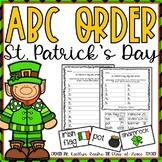 ABC Order St. Patrick's Day