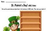 St. Patrick's Day ABC Order Worksheet