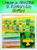 St. Patrick's Day How to Catch a Leprechaun Bulletin Board Set Writing Craft