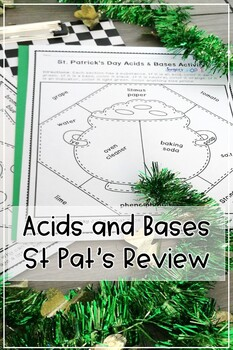 St. Patrick's Day Acids and Bases Review Activity