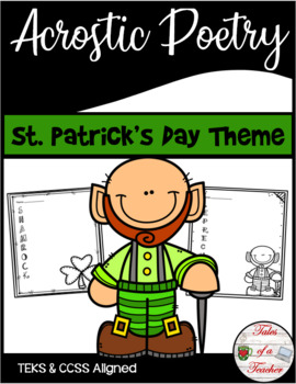 St. Patrick's Day Acrostic Poetry