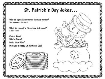 St. Patrick's Day Craft   St. Patricks Day Activity   Leprechaun Craft