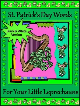St. Patrick's Day Language Arts Activities: St. Patrick's Day Spelling & Words