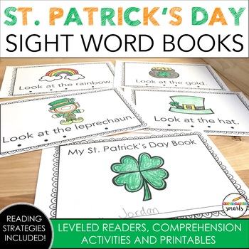 St. Patrick's Day Sight Word Book